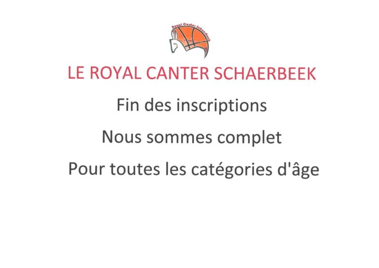 Annonce Royal Canter SChaerbeek